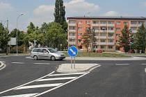 Nový rondel v Anenské ulici