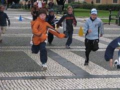 Druháci z různých škol v pondělí 22. září závodili v centru Prostějova.