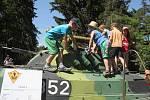Dětský den s vojáky ve Vícově