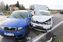 Nehoda mezi Kostelcem a Prostějovem