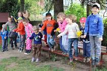 LOVCI FOTEK: Radost ve školce