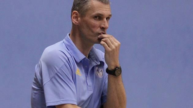 Zdeněk Choleva. trenér basketbalistů Prostějova