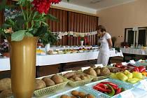 Výstava ovoce a zeleniny v Určicích