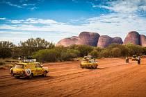 Trabanty napříč Austrálií