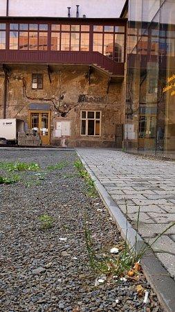 Nádvoří Prostějovského zámku