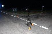 Nebezpečná křižovatka mezi Smržicemi a Kostelcem byla svědkem další těžké nehody. 21.4. 2019