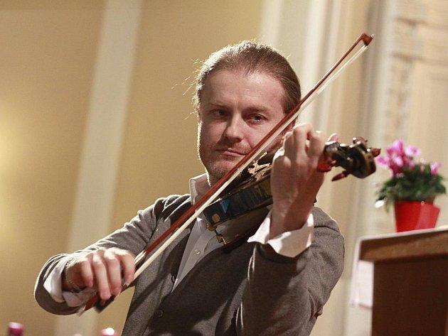 Houslový virtuóz Pavel Šporcl