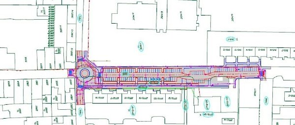 Součástí obnovy Tylový ulice vProstějově je ivýstavba rondelu