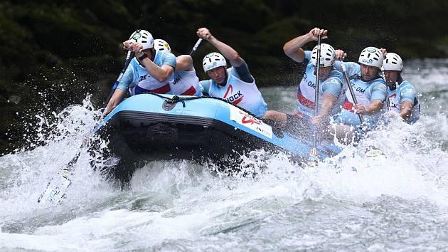 Prostějovský tým Tomi-Remot na mistrovství Evropy v Bosně a Hercegovině.