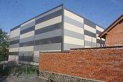 Stavba sportovní haly ve Vrbátkách