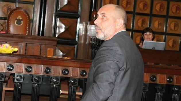 Prostějovský primátor František Jura na ustavujícím zasedání prostějovského zastupitelstva