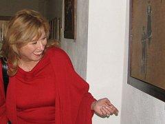 Malířka Lilian Amann