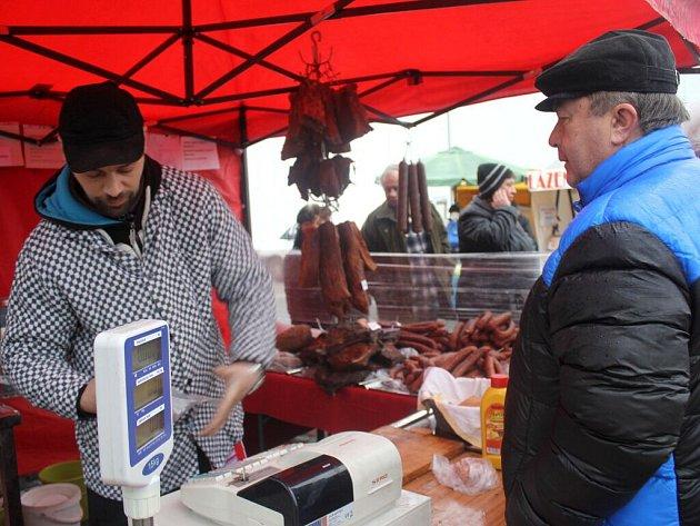 První farmářské trhy v Prostějově