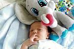 Tobiáš Fibich, Hranice, narozen 2. července 2020 v Přerově, míra 47 cm, váha 3102 g