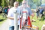 Happening s vůní guláše a hořkou chutí piva v prostějovských Kolářových sadech. 18.5. 2019