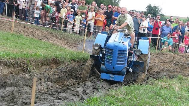 Traktoriáda. Ilustrační foto