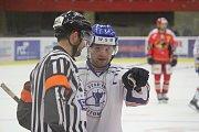 2. kolo WSM Ligy, LHK Jestřábi Prostějov - HC Stadion Litoměřice 1:4 (1:0, 0:1, 0:3). Aleš Pavlas (Litoměřice)
