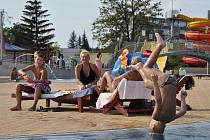 Prostějovský aquapark. Ilustrační foto