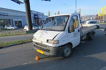 Nehoda v Konečné ulici v Držovicích