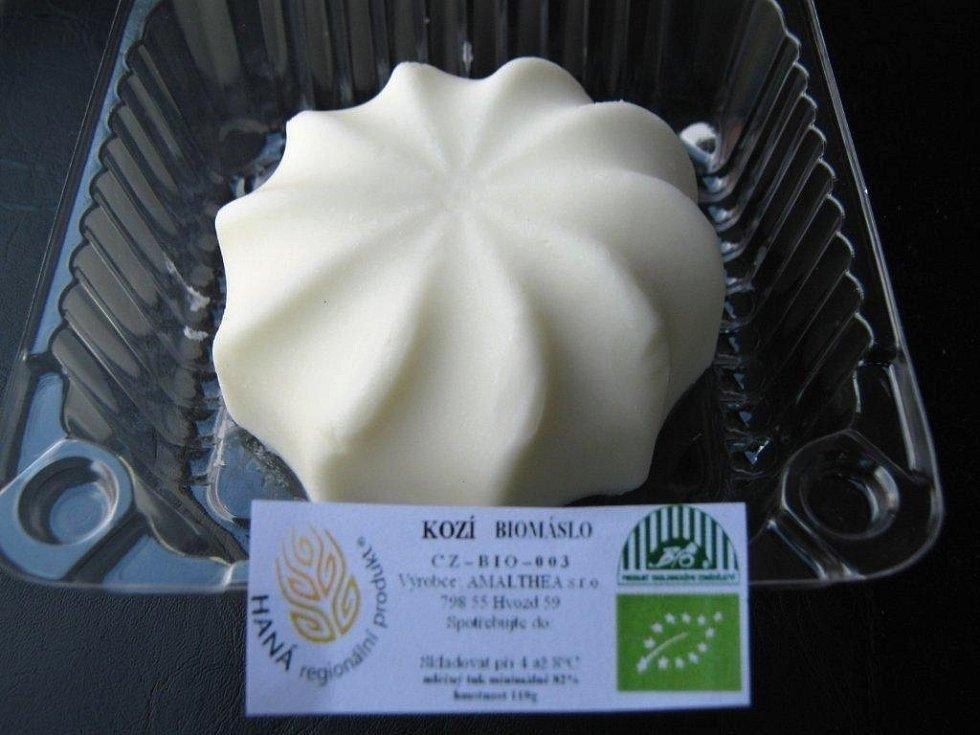 Kozí máslo - obal