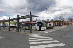 Autobusové nádraží v Prostějově
