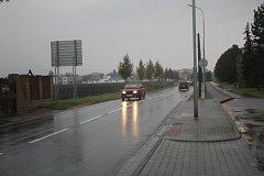 Doprava na jižní spojce v Prostějově