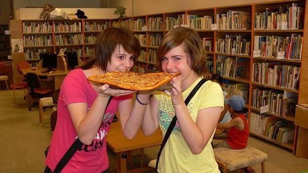 Pizza kvíz v prostějovské knihovně