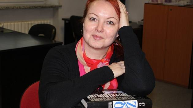 Spisovatelka a prostějovská rodačka Markéta Marková alias M. T. Majar