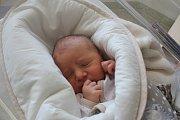 Filip Miček, Plumlov, narozen 23. srpna v Prostějově, míra 50 cm, váha 3550 g