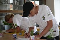 Budoucí deváťák Roman Šnajdr z Brodku u Konice zvítězil v kategorii starších dětí na třicátém ročníku celostátní soutěže Mladý zahrádkář v Klatovech