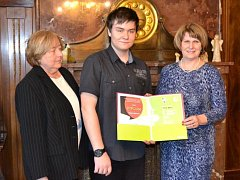 Olympiáda v německém jazyce 2016 už zná svého vítěze. Je jím Filip Bašný, student 2. ročníku SOŠ podnikání a obchodu v Prostějově.