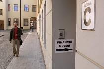 Finanční odbor nyní sídlí v budově C