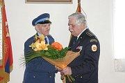 Zasloužilí hasiči z Protivanova