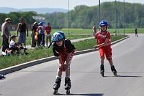 Sportovní den na kolečkách v Prostějově