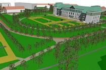 Architekt František Fröml by v areálu bývalých armádních budov vybudoval park a komunitní centrum volnočasových aktivit