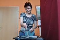 Do volební místnosti v Tvorovicích dorazilo 73 procent oprávněných voličů