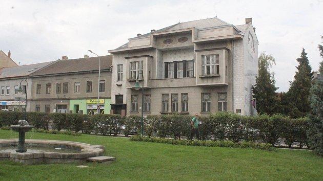 Kovaříkova vila v Prostějově