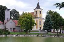 Kostel v Drahanech
