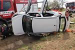 Nehoda opilé řidičky u Brodku u Prostějova