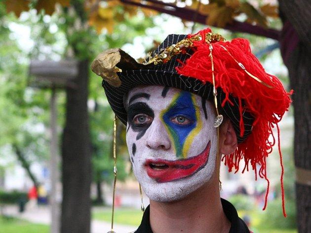 Klaun - král majálesu 2012