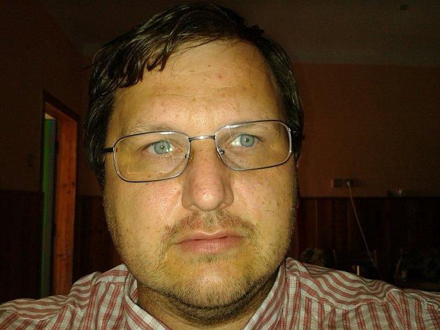 Starosta Bousína Viktor Pořízka