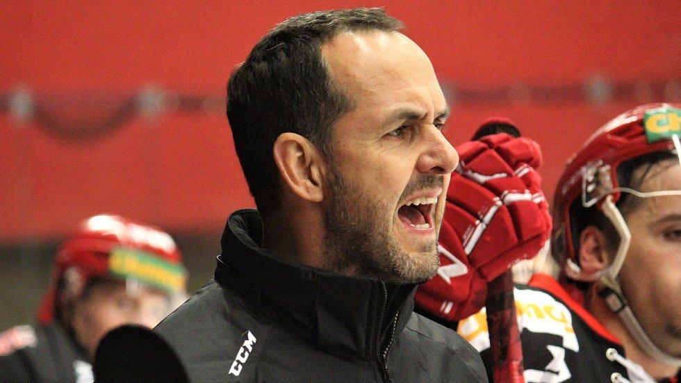 Sportovní manažer Jestřábů Jiří Vykoukal