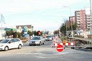 Rekonstrukce Plumlovské ulice v Prostějově