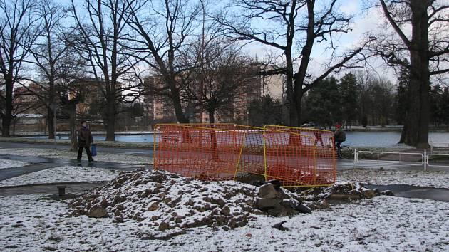 Rekonstrukce plynovodu bude v Prostějově trvat až do roku 2009.