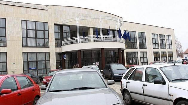 Společenský dům v Komenského ulici v Prostějově.