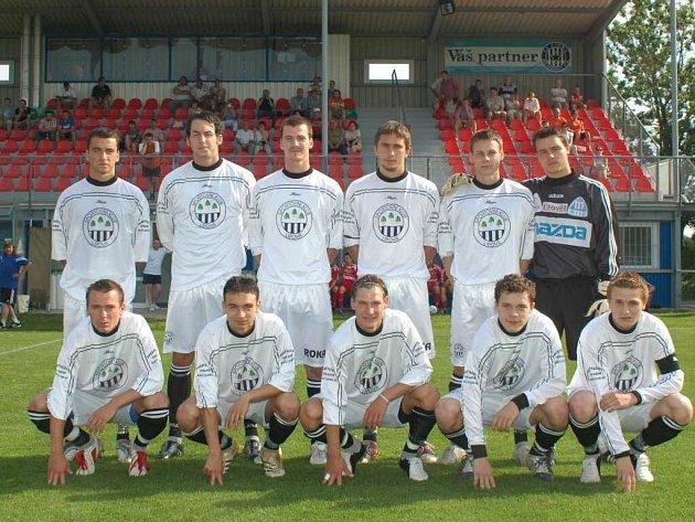 Sestava SK Lipová z nejúspěšnější sezóny 2005/2006