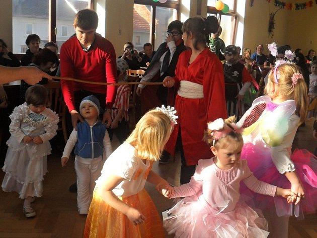 Dětský karneval v Seloutkách