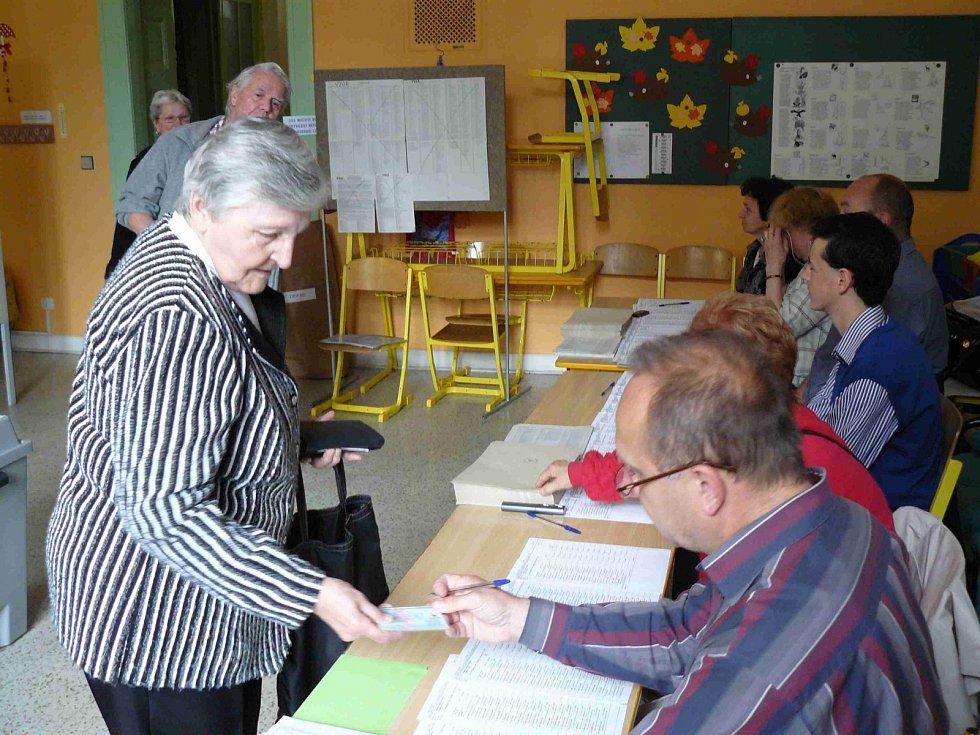 Volby na Skálově náměstí v Prostějově