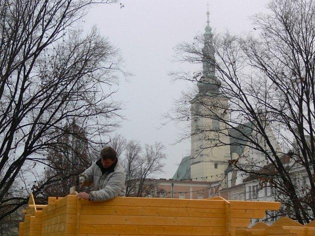 Vánoční trhy začnou na náměstí T.G. Masaryka ve čtvrtek 11. prosince.