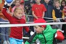 Burza volného času opět lákala děti na zajímavé kroužky.